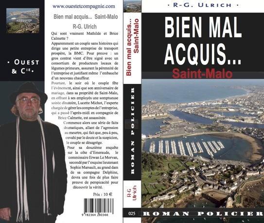 couverture et dos du roman Bien Mal Acquis